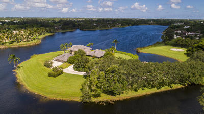 Boca Raton Single Family Home For Sale: 6007 Le Lac Road