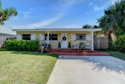 Delray Beach Single Family Home For Sale: 242 NE 9th Street
