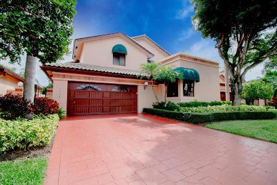 Boca Raton Single Family Home For Sale: 6444 Via Rosa