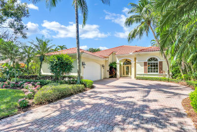 Jupiter Single Family Home For Sale: 137 W Village Way