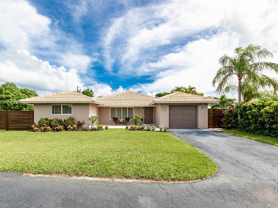 Boca Raton Single Family Home For Sale: 1200 SW 2nd Avenue