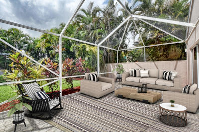 Boca Raton Single Family Home For Sale: 7884 Travelers Tree Drive