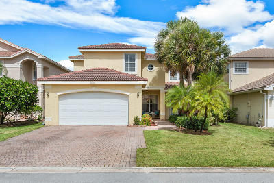 Greenacres Single Family Home Contingent: 5065 Nautica Lake Circle