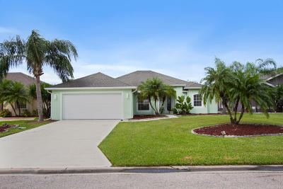 Jensen Beach Single Family Home For Sale: 356 NW Emilia Way