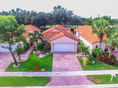 Boynton Beach Single Family Home For Sale: 5130 Pelican Cove Drive