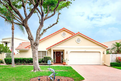 Delray Beach Single Family Home For Sale: 309 Pelican Way