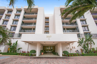 Yacht & Racquet Club Of Boca Raton, Yacht & Racquet Club Of Boca Raton Condo Condo For Sale: 2667 Ocean Boulevard #I212