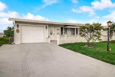 Boynton Beach Single Family Home For Sale: 722 SW Lake Court