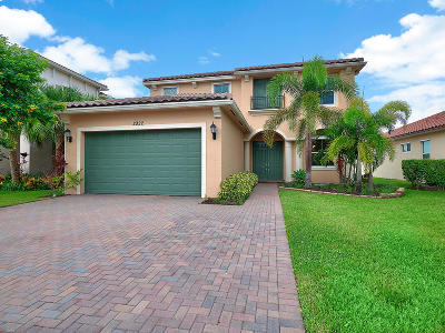 Royal Palm Beach Single Family Home For Sale: 2922 Bellarosa Circle