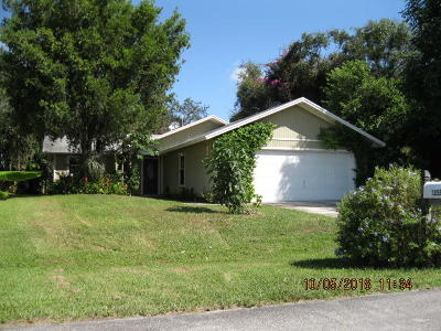 Palm City Single Family Home For Sale: 1355 SW Ulmus Place
