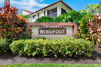 Jupiter Condo For Sale: 1101 Wingfoot Drive #B