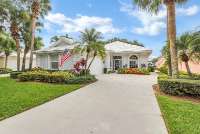 Palm Beach Gardens Single Family Home For Sale: 4136 Lazy Hammock Road