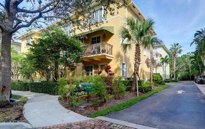 Jupiter Townhouse For Sale: 163 Apalachee Lane