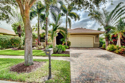 Boynton Beach Single Family Home For Sale: 7602 Via Grande