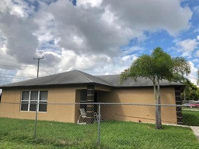 West Palm Beach Single Family Home For Sale: 1105 W 9th St Street
