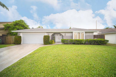 Palm Beach Gardens Single Family Home For Sale: 1109 Rainwood Circle