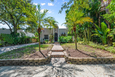 West Palm Beach Single Family Home For Sale: 834 Upland Road