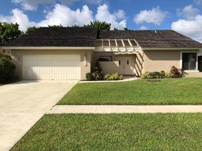 Boca Raton Single Family Home For Sale: 7595 San Mateo Drive E