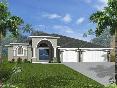 Port Saint Lucie Single Family Home For Sale: Crusader Road