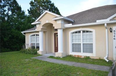 Vero Beach Single Family Home For Sale: 8546 99th Court