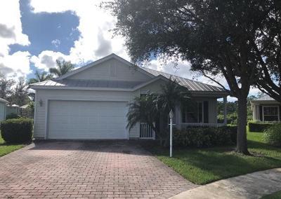 Port Saint Lucie Single Family Home Contingent: 445 NE Little Mullet Court