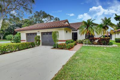 Boynton Beach Single Family Home For Sale: 5786 Story Book Lane #B