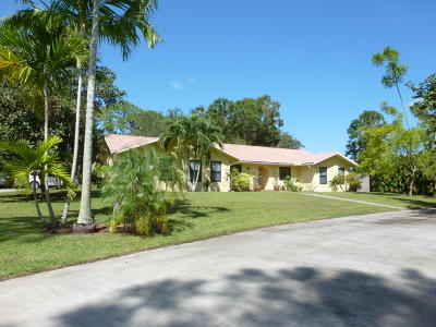 Palm Beach Gardens Single Family Home For Sale: 15171 74th Avenue