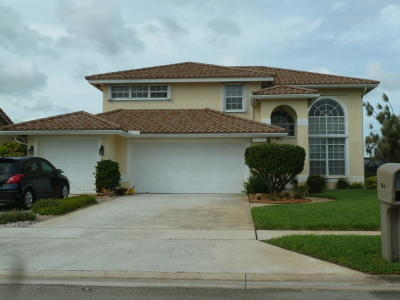 Lake Worth Single Family Home For Sale: 6687 Lake Island Drive