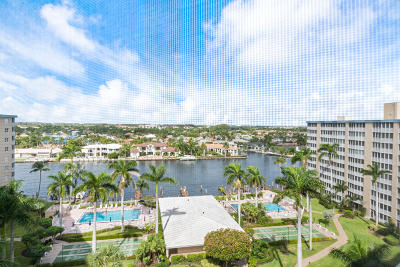 Highland Beach Condo For Sale: 3224 S Ocean Boulevard #1016b