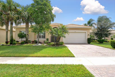 Boynton Beach Single Family Home For Sale: 9548 Dovetree Isle Drive