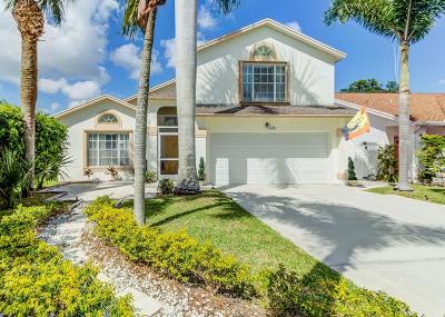 West Palm Beach Single Family Home Contingent: 5195 Foxhall Drive