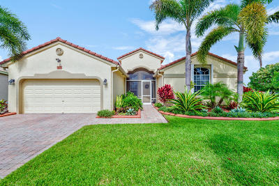 West Palm Beach Single Family Home For Sale: 9456 Lantern Bay Circle