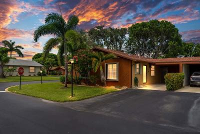 Boynton Beach Single Family Home For Sale: 537 SE 27th Terrace #51-A