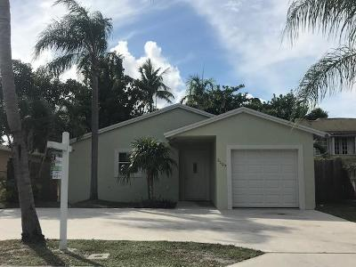 West Palm Beach Single Family Home For Sale: 2107 Parker Avenue