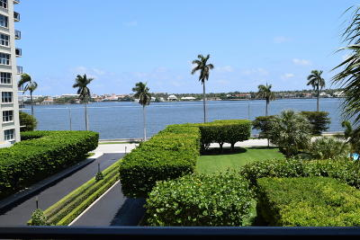 West Palm Beach Condo For Sale: 1701 S Flagler Drive #407