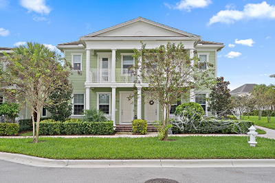 Jupiter Townhouse For Sale: 1208 Turnbridge Drive