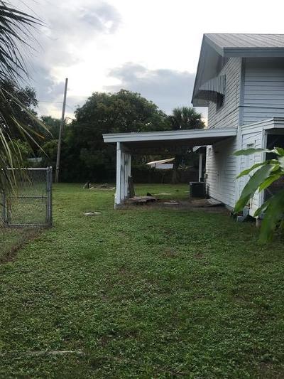 Stuart Single Family Home For Sale: 901 E 14th Street