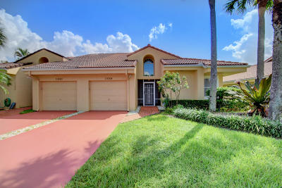 Boca Raton Single Family Home For Sale: 11088 Rios Road