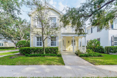 Jupiter Single Family Home Contingent: 227 Sweet Bay Circle