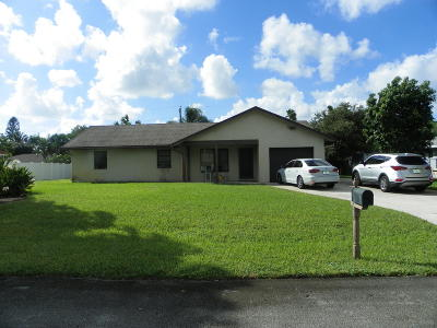 Delray Beach Single Family Home For Sale: 5438 Greenwood Drive