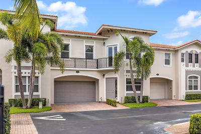 Delray Beach Townhouse For Sale: 1840 Highland Groves Drive