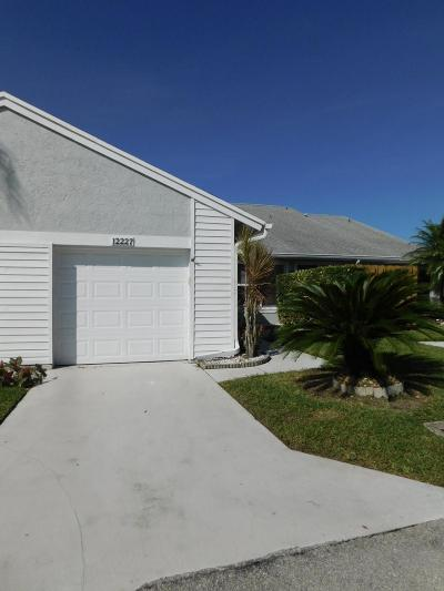Boynton Beach Single Family Home For Sale: 12227 Forest Greens Drive