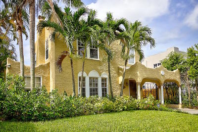 West Palm Beach Single Family Home For Sale: 528 32nd Street