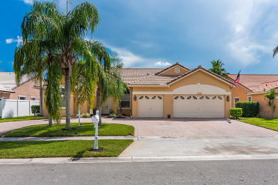 Boca Raton Single Family Home For Sale: 9730 Enchanted Pointe Lane