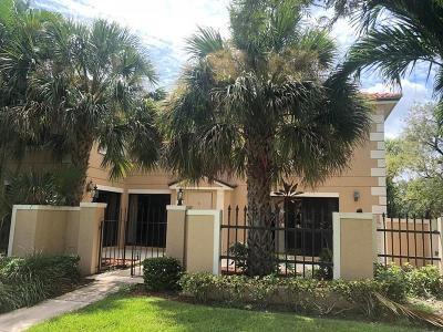 Palm Beach Gardens Rental For Rent: 356 Prestwick Circle #1