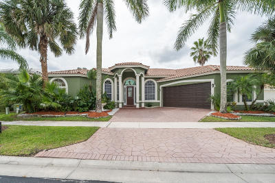 Boca Raton FL Single Family Home For Sale: $547,000