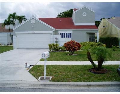 Boca Raton Single Family Home For Sale: 8579 Dynasty Drive