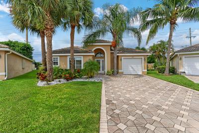 Boynton Beach Single Family Home For Sale: 8265 Palm Gate Drive