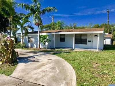 Delray Beach Single Family Home For Sale: 520 SW 15th Terrace