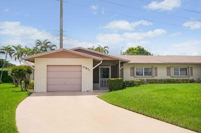 Delray Beach Single Family Home Contingent: 13971 Packard Terrace
